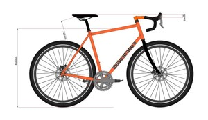 Motorless City Bicycle Co. Gravel Road Bike