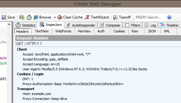 nuxx net » Fiddler for Chained Proxy Authentication
