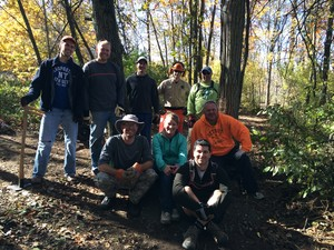 Bald Mountain Trail Day (October 2015)