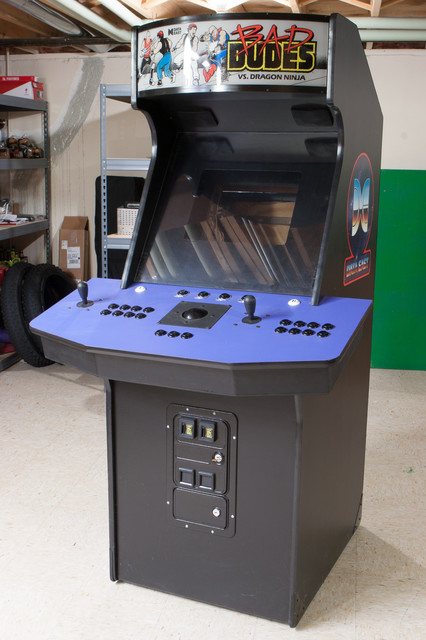 Up For Sale Is My MAME Cabinet. As Documented On This Wiki Article I Built  This Cabinet From A Pile Of Lumber In The Style Of A Late 1980s Data East  Cabinet ...