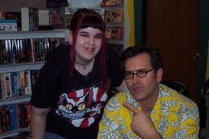 Bruce Campbell at Thomas Video