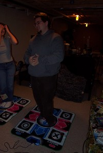 DDR with Beth, Grey, and Rebecca