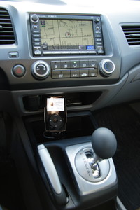 iPod in 2006 Honda Civic (EX w/ Navigation System)