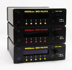 MIDIbox SID-NUXX